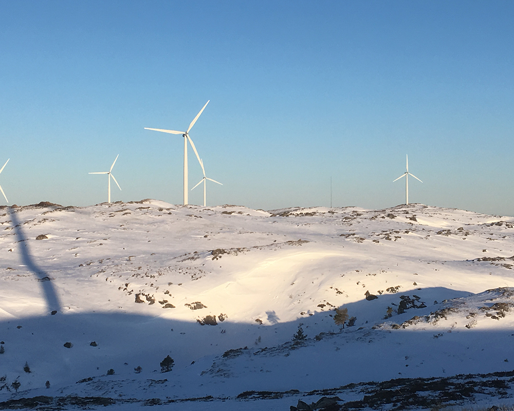 The Hitra wind farm
