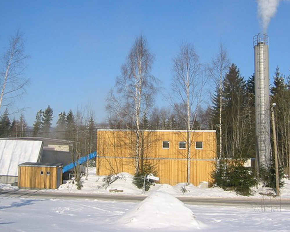 Nannestad district heating