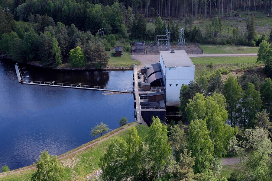 Ängabäck power plant