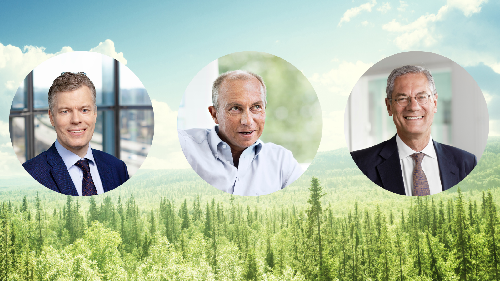 CEO's of Fortum, Statkraft and vattenfall