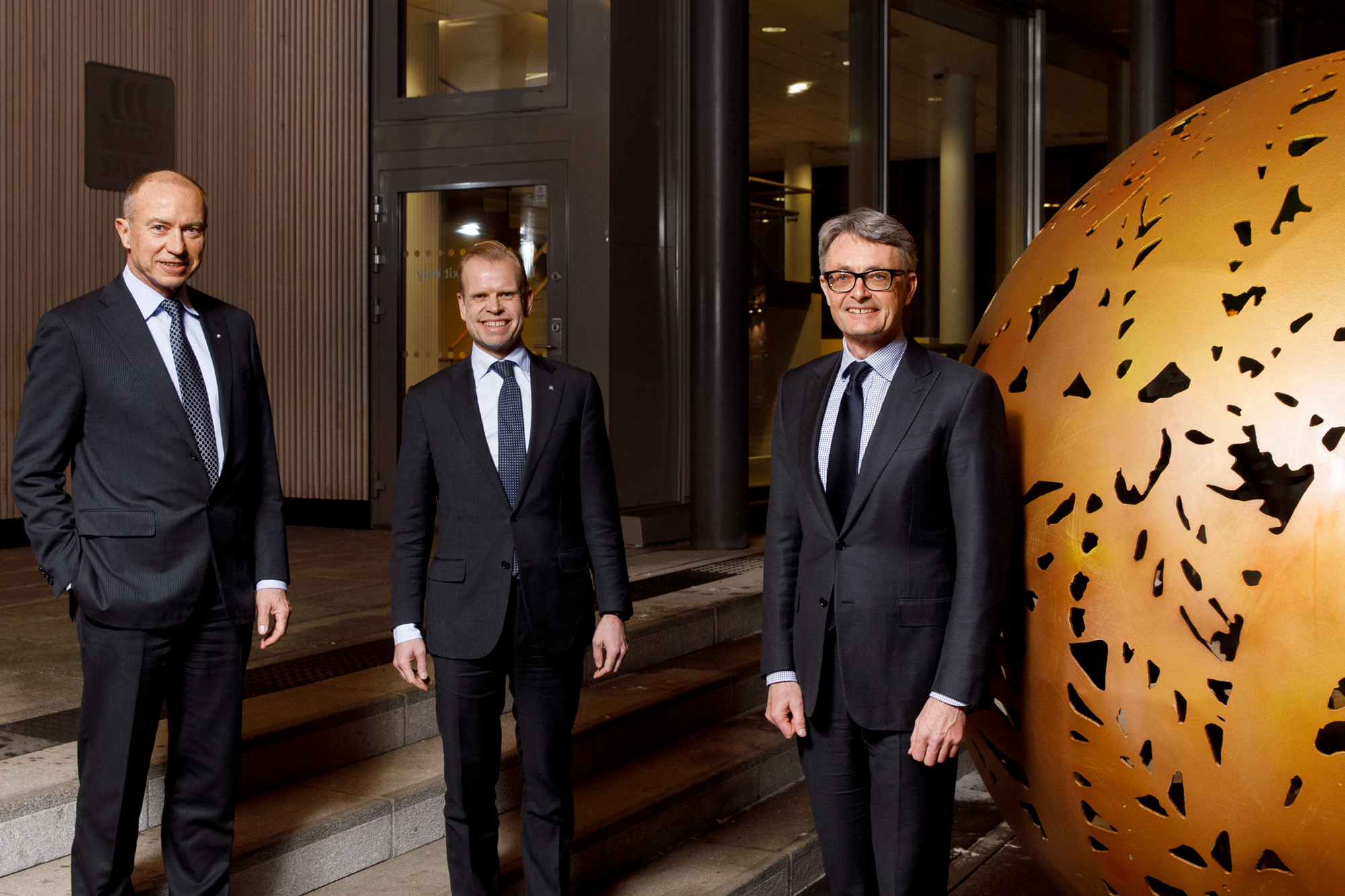 CEO's of Statkraft, Yara and Aker ASA