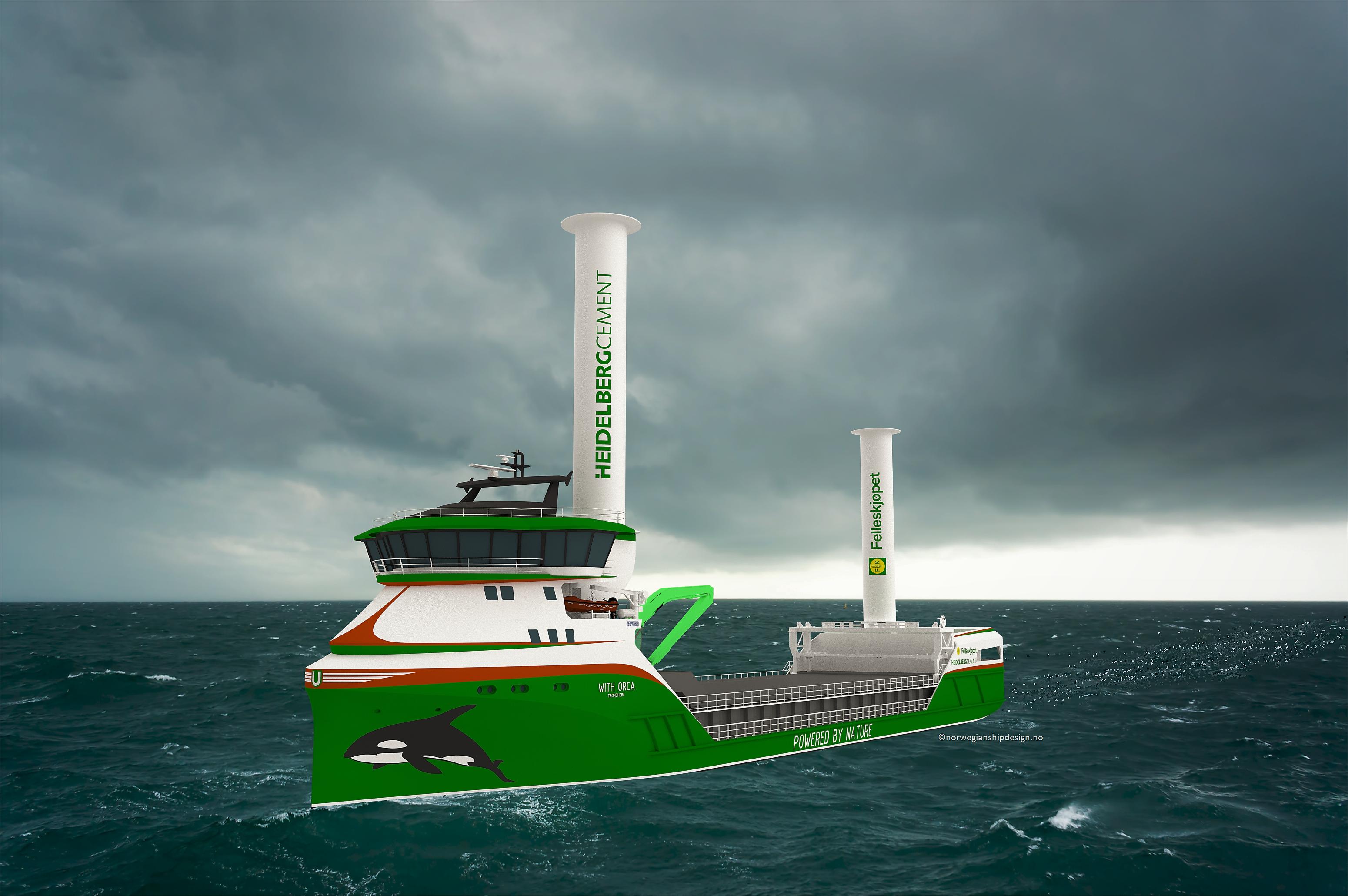 Zero emission ship