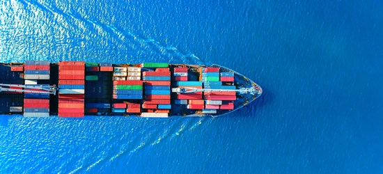 Large container vessel