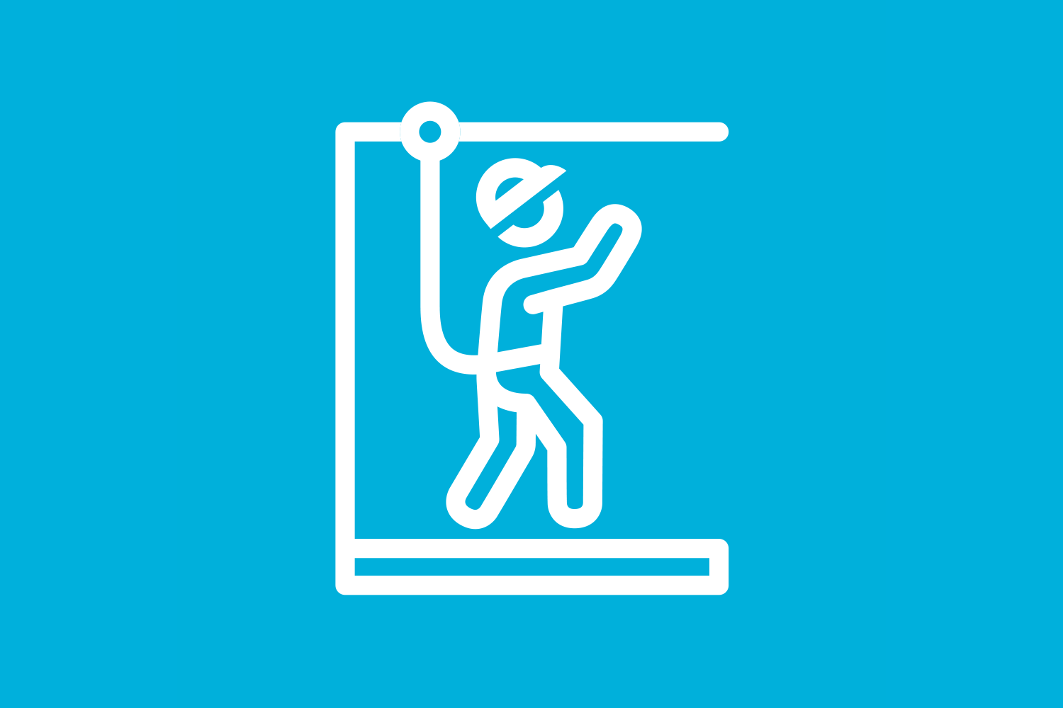 Icon illustrating our Life Saving rules for work at heights
