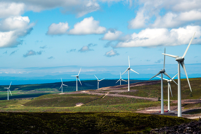 Burry Burn wind farm