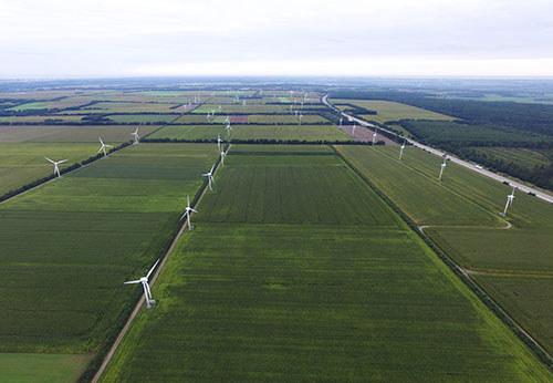 Windfarm Midlum