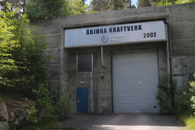 Åbjøra power plant.