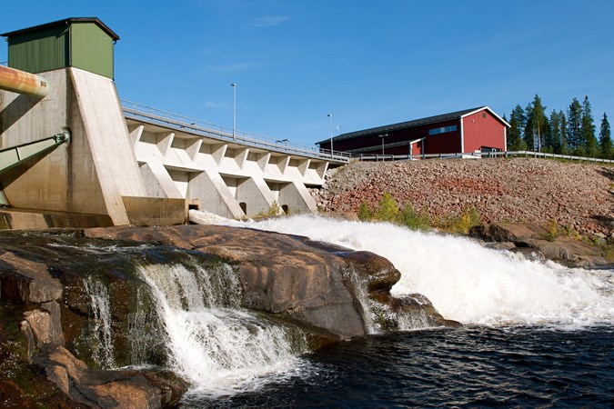 Björna hydro power station