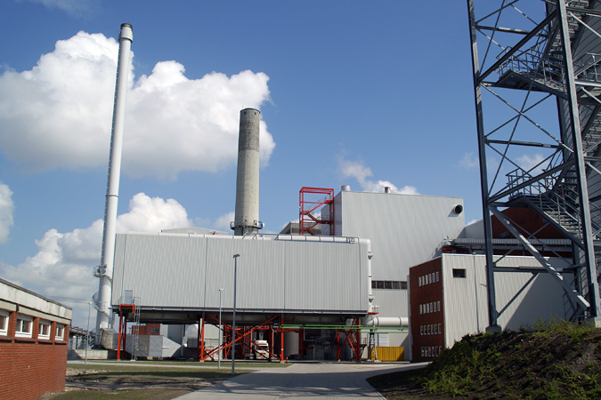 Emden biomass power plant
