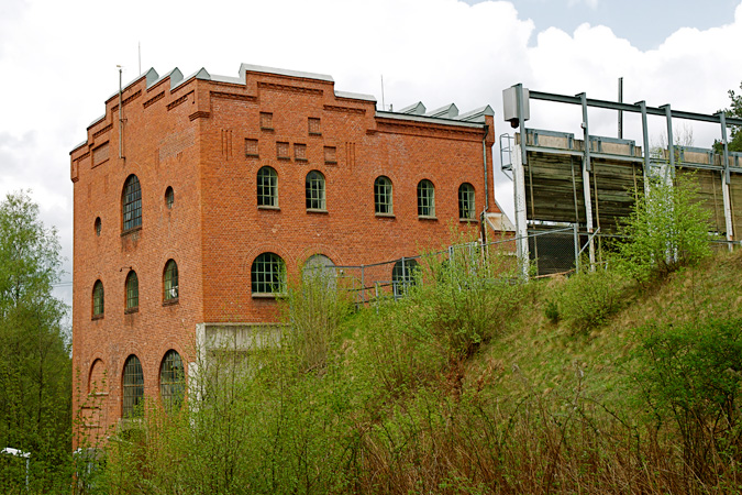 Majenfors Gamle power plant