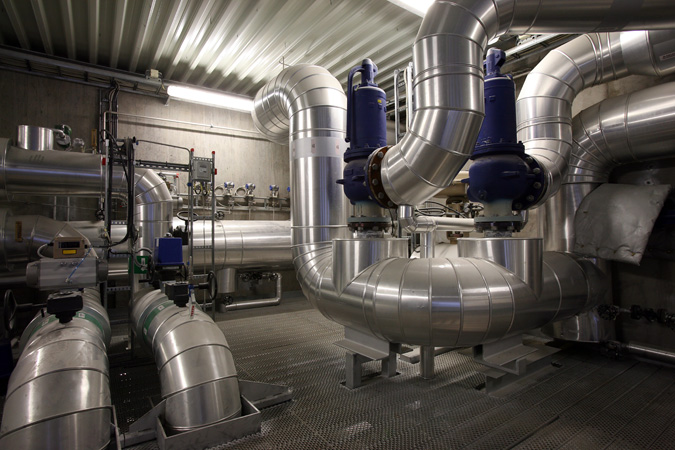 Porsgrunn district heating