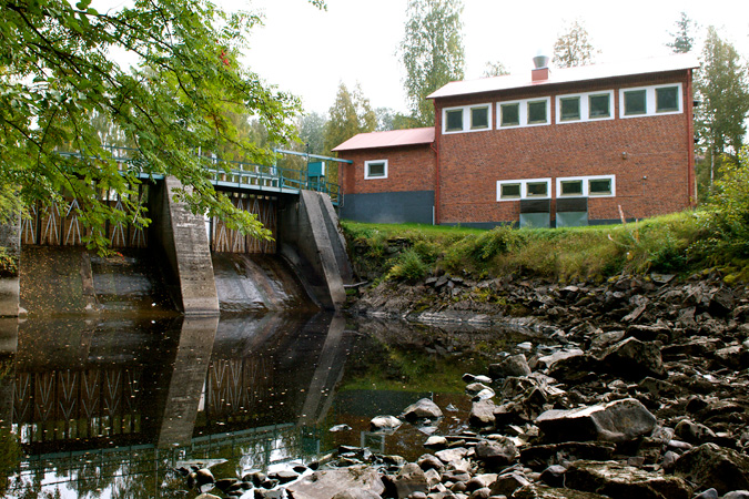 Sidensjö power plant