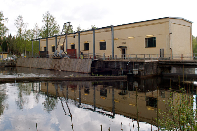 Timsfors power plant