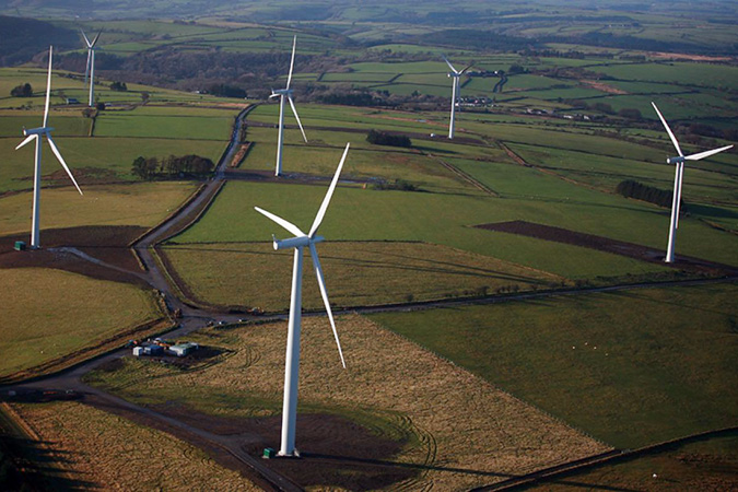 Alltwalis wind farm