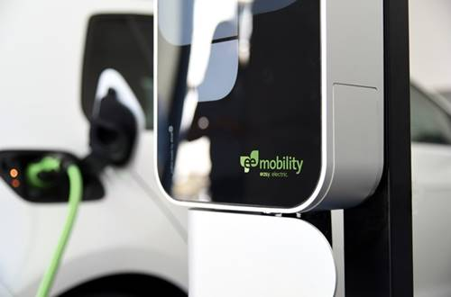 Green charging station from eeMobility