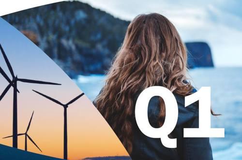 Quarterly result logo