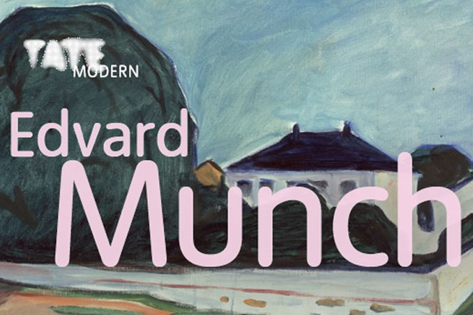 Munch exhibition at Tate Modern in London