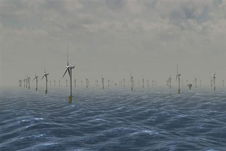 Illustration wind farm solution