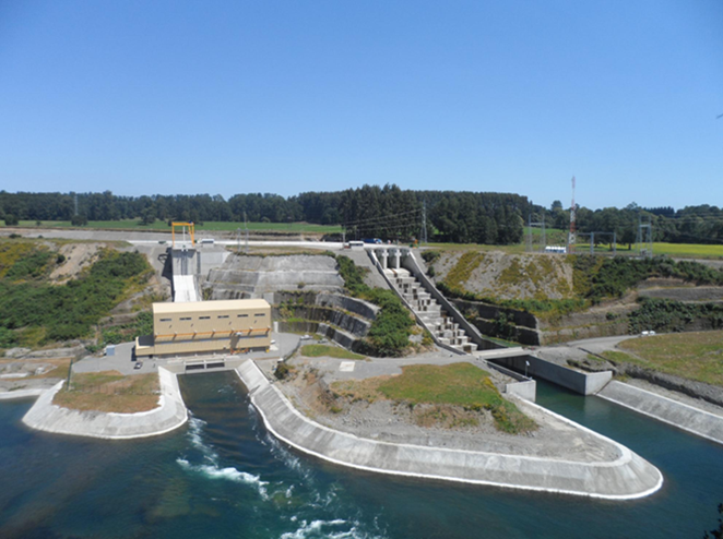 The Rucatayo hydropower plant in Chile.