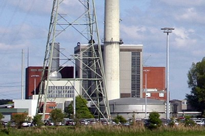 The Emden power plant.