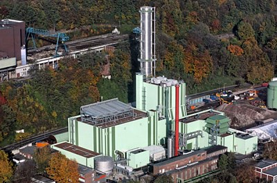The German gas-fired power plant in Herdecke.