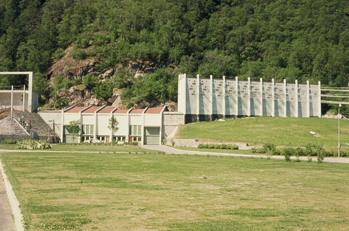 Aura power plant, located in Sunndalsøra.