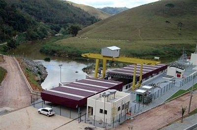 The Santa Rosa II hydropower plant.