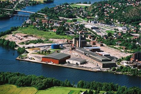 Nordic Paper's paper mill