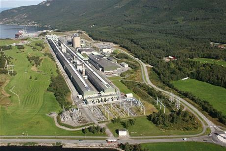 Søral plant seen from above