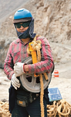 Image of Peruvian worker