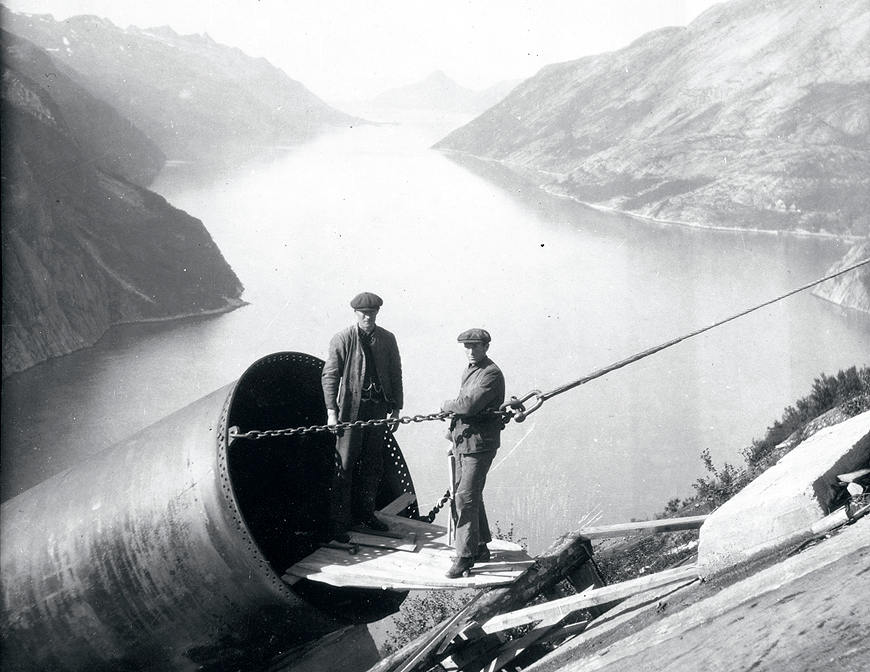 Old photo from Glomfjord