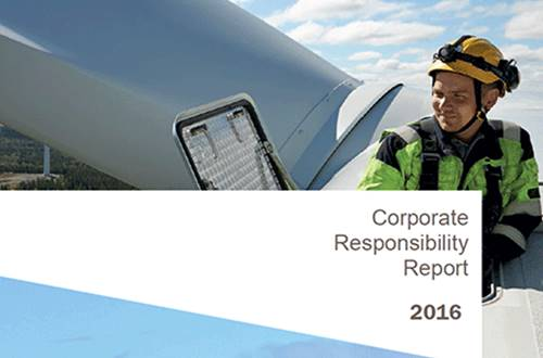 Corporate Responsibility Report 2016