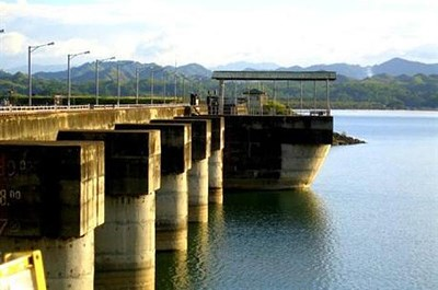Magat Hydroelectric Power Plant by the sea